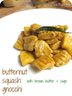 Butternut Squash Gnocchi | SkinnyCookProblems